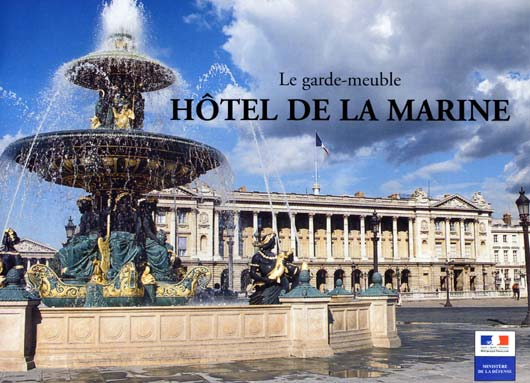 L Hotel De La Marine A Paris